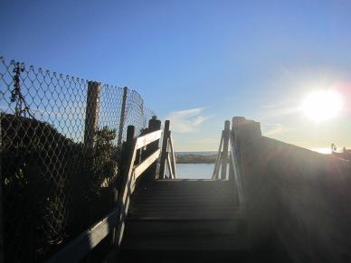 Pismo Coast Village stairs to beach